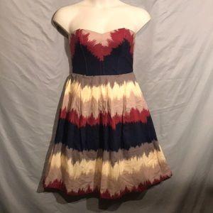 Anthropologie / Corey Lynn Calter color dip dress
